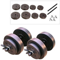 Wholesale Golds Gym Lb Vinyl Dumbbell Set Weight Dumbbells Hand Weights Adjustable