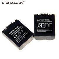 Wholesale DigitalBoy CGA S006E CGRS006A CGR S006E CGR S006A B BP DC5U Camera Battery For PANASONIC Lumix DMC FZ30 K FZ8EF S FZ30 S