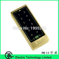 Wholesale colors M12 B access control system with RFID or MF card reader surface waterproof IP65 waterproof access control with keyboard