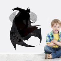 batman wallpaper - DHL Batman Wall Stickers Kid Room Home Decoration Living room WallPaper Cartoon Removable cm