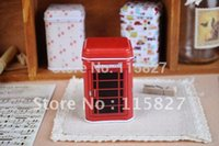 Wholesale 6pcs Small Candy Box Metal Storage Can Toothpick Holder Pill Case Mini tin case Mixed Design