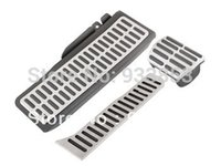Wholesale Replacement Parts Pedals NEW Stainless Steel Automatic AT Pedal For VW Jetta MK6 Beatles