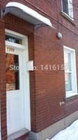 Wholesale DS100200 P x200cm x inches Polycarbonate Canopy Awning Plastic Door Canopy Awning Awning Door Entrance Door Canopy