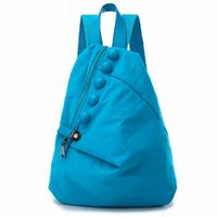 Wholesale Canvas Backpacks Korean Retro Fashion Leisure Cloth Oxford Nylon Bag Student Bag