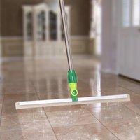 Wholesale New Arrival Floor Wiper Stainless Steel Telescopic Squeegee Household Floor Cleaning Tools Glass Wndow Cleaner JG0046