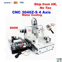 Wholesale 3D CNC router Z S Engraving machine W VFD CNC Milling machine free tax to EU countries