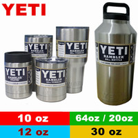 cup - YETI Rambler oz oz oz oz oz Cups Cooler YETI Rambler Tumbler Travel Vehicle Beer Mug Double Wall Bilayer Vacuum Insulated OTH242