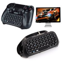best keyboard controllers - Black Mini Bluetooth wireless Best Adapter keyboard Keypad for DualShock PlayStation PS4 Controller