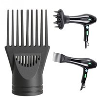 Wholesale set Professional Hairdressing Salon Set Tool Hair Dryer Diffuser Blower Black Hair Dryer Nozzle Comb Curl Diffuser Wind