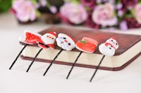 asian fruits - Hair Clips Barrettes Factory Fruit Fruit Christmas Children Word Clip Clip Barrettes Butterfly Head