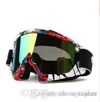 big motorcycle helmets - Motorcycle Goggles Motocross Helmet Goggle Dirt Bike Downhill Glasses Motocross Off Road Eyewear Big Order and Better Price