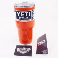 Wholesale p Yeti Cups Stainless Steel Tumbler Mug Gold Pink Purple Light Blue Light Green Silver Green Color In Stock