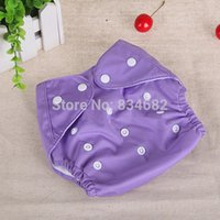 Wholesale cloth nappy diapers for babies Reusable Washable Baby Cloth Diapers Nappy Diapers color choose Diapers with10pcs Inserts