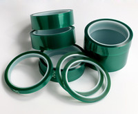 adhesive pcb - 2016 mm m mm Green High Temperature Resistant PET Insultion Adhesive tape for PCB Electroplate Masking