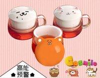 Wholesale Himouto Umaru chan Hamster Neko Atsume Cat Ceramic Glass Cup Mug Teacup Gift