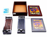 Wholesale Stratego Famous board game Keesing Games English Vintage Chess Set Puzzle Board Game Party Games Children Gift