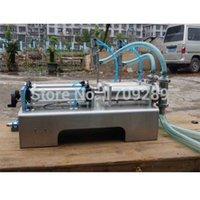 Wholesale Filling machine double nozzle head Liquid large hopper Rotary Valve range100 ml quantitative filling and packaging equipment