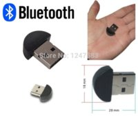 Wholesale 100pcs Bluetooth USB Dongle Adapter smallest bluetooth adapter V2 EDR USB Dongle PC Laptop OPP Packing