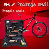 Wholesale NEW Bicycle tools for the maintenance of mountain bike repair tool combination tool set bicycle repair tool