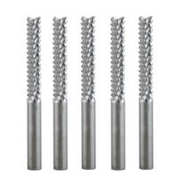 Wholesale 5Pcs mmX22mm Carbide End Mill Engraving Bits Tungsten Steel for PCB SMT