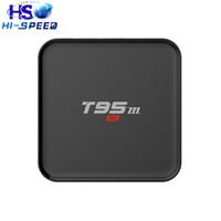 android dlna player - 10pc Android TV Box T95M G G Quad Core Amlogic S905 bit UHD K K IPTV HDMI2 WIFI KODI Miracast DLNA Smart tv media player