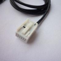 Wholesale Female mm Car Aux Cable Audio Adapter For BMW E60 E63 E64 E66 E81 E82 E70 E90 New