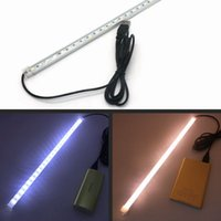 Wholesale V USB led Light Strip Lamp SMD leds LED Hard Rigid Strip Light Tube with Switch for Phone Charger PC Tablets