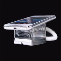 Vente en gros de téléphone cellulaire de sécurité d'affichage stand mobile Acrylic Holder anti-vol