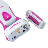 pedicure spa - Feet Care Electric Foot Exfoliator Dead Hard Skin Callus Remover Pedicure Heel Peeling Machine Massager Spa RCS49 P6365