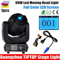 Wholesale TIPTOP High Brightness W LED Moving Head Spot Stage Lighting DMX Control W Gobo Led Moving Light LCD Display With Face Prism