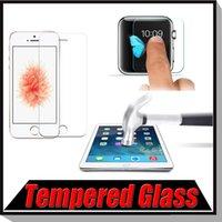 air free glasses - Premium Tempered Glass Screen Protector Protective Film For iPhone S Plus SE S iPad Mini iPad Air Free Ship MOQ