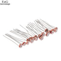 Wholesale mm Photo Light Sensitive Resistor Photoresistor Optoresistor GL5537 New low price