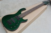 basswood bass body - Hot Sale String Electric Bass with Dark Green Body and Frets and Can be Changed