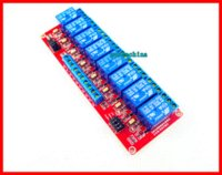 Wholesale 2pcs Channel V Relay Module for Arduino with Optocoupler H L Level red board relay lens relay coil