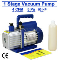 Wholesale R134 R410a Single Stage Rotary Vane Deep HP CFM Vacuum Pump HVAC AC Air Tool