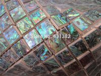 abalone tiles - 2 Green Abalone Shell Mosaic tile ceramic tiles for bathroom mosaic tiles green green abalone mosaic ceramic backsplash tile
