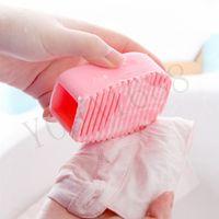 Wholesale 1pcs Cleaning Washing Flexible Scrub Brush Hand held Mini Washboard Antiskid Creative