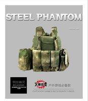 Wholesale Ghost live wire tactical vest CS module War amphibious commando vest protective combat equipment