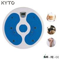 Wholesale KYTO Digital LCD Fitness Figure Trimmer Calorie Disco Waist Board Count Timer Clock Alarm Waist Twister Leg Hip Waist Fitness