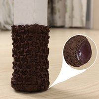Wholesale Fashion Chair Leg Protector Pads Non Skid Table Feet Sleeve Cover Socks Table Foot Cap Furniture Accessories JC0230