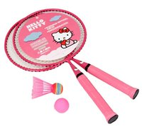 Wholesale new arrival lovely Hello kitty children badminton rackets have badminton