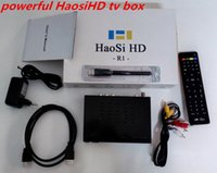 Wholesale 2016 Best Newest Cheapest Arabic IPTV Set Top Box HD Haosi Arab IPTV Free Europe Americas Africa Central East Arab TV TV Box