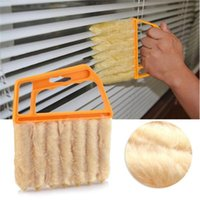 Wholesale Dismountable Washable Vertical Window Blinds Brush Cleaner Mini Shape Hand Held Window Brush Pinceis Novelty Households Cleaning S332
