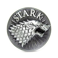 Wholesale Game Of Thrones Direwolf the symbol of House Stark of Winterfell belt buckle TV show