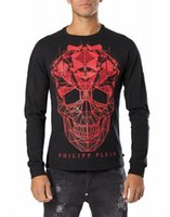 Wholesale new pp D skull men s casual long sleeve T shirt qp MEN S round neck t shirt long sleeve t shirt size M XXL