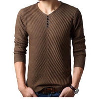 bamboo knit stitch - 2016 Spring autumn Brand men Casual sweater mens Cashmere Wool Pullover christmas sweater men Dress Knitted Sweater Clothing