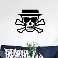 bedroom design trends - Zero artistic trends minimalist bedroom and a living room suitable for decorative vinyl wall stickers