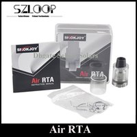 air refill - Original SMOKJOY Air RTA ml Top Refilling Rebuidable Tank Atomizer Smallest RTA Ever with Delrin Drip Tip