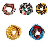 Wholesale Cute luxury Children Warm Cotton Scarf Boy Girl Scarf Shawl Winter Neckerchief R658