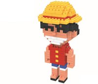 Wholesale One piece puzzle building blocks series Tony Tony Chopper model toys and suit children toys